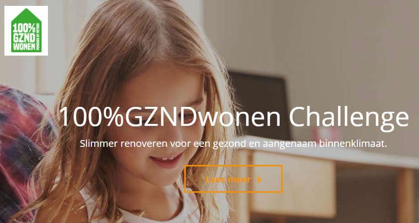 28 deelnemers aan de 100%GZNDwonen Challenge van Mitros
