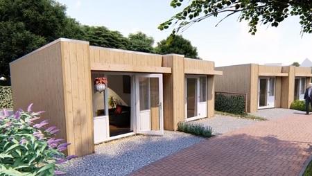 Wooncorporatie de Veste biedt Tiny Houses aan