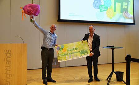 E-Shower Blue wint innovatiepitch 'Limburg klaar voor morgen'