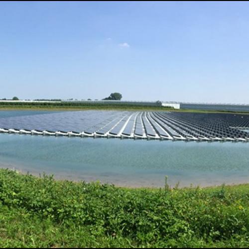 Drijvend zonnepark Lingewaard voorziet ruim 600 huishoudens van stroom