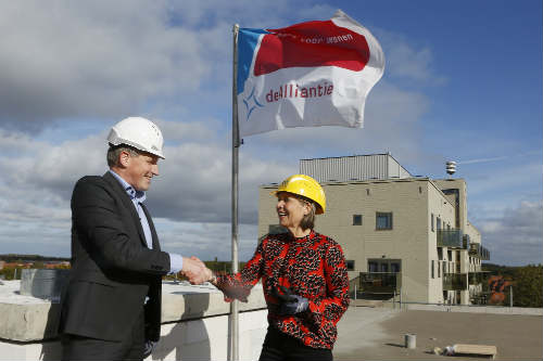 Hoogste punt duurzame nieuwbouw woonwijk Lucent behaald