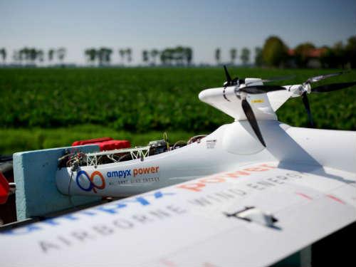 Airborn Wind Energy System (AWES): windenergie opwekken met vliegtuig