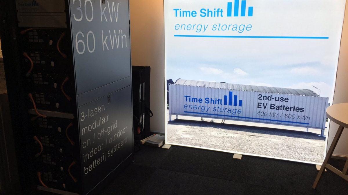 Energieopslag met gebruikte auto batterijen