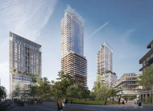 Utrecht krijgt woontorens waarvan een zelfs hoger dan de Dom