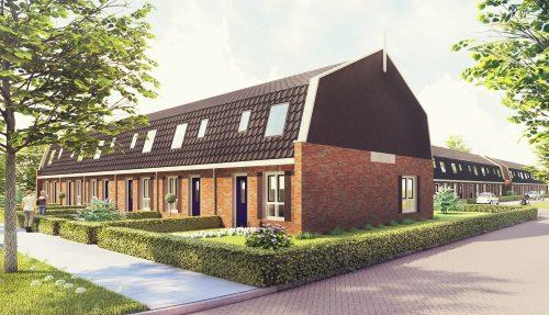 WoonFriesland bouwt duurzame en gasloze woningen in Hardegarijp