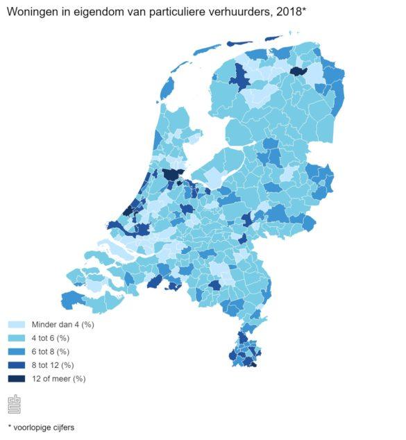 particuliere verhuur Nederland