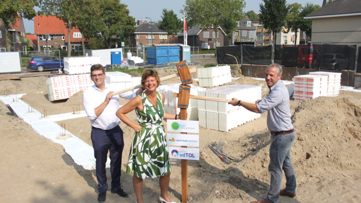 Nieuwbouw Stationsweg Bunnik gestart