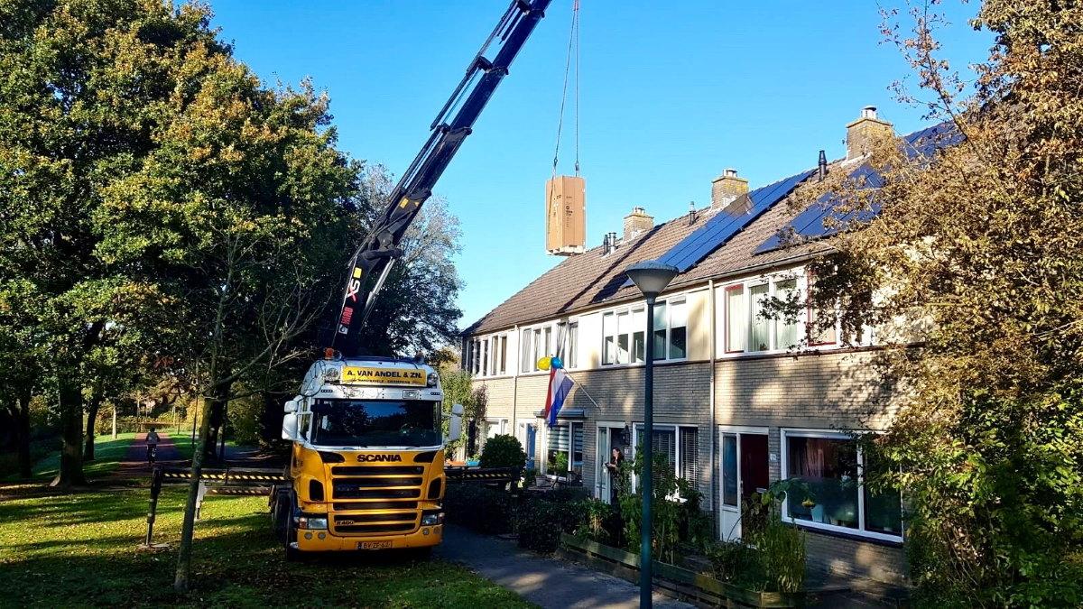 Tien huishoudens in Eemnes genieten van een bijna energieneutrale woning