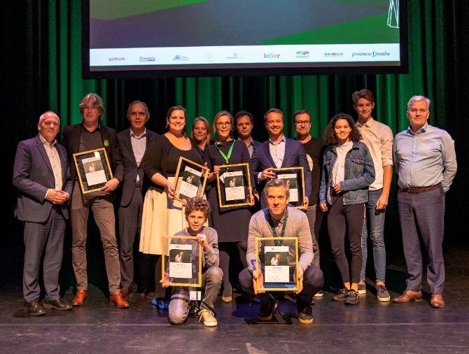 Zes winnaars Drenthe Woont Circulair bekend